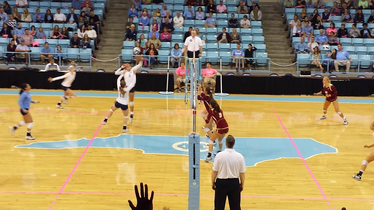 unc volleyball